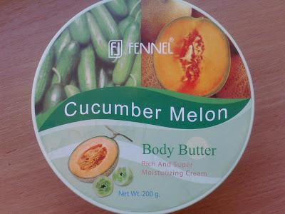 Masło do ciała FENNEL  – melon i ogórek