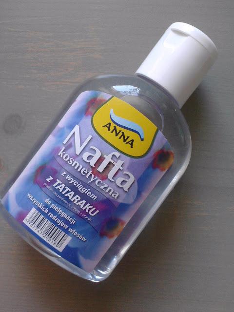 Nafta kosmetyczna + jajko = odżywcza maseczka na włosy