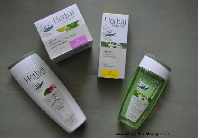 Seria kosmetyków z Pollena Eva Herbal Garden już u mnie!