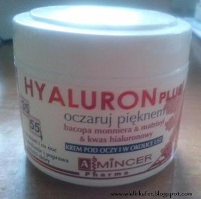 Hyaluron Plus – Krem pod oczy i w okolice ust od Mincer Pharma