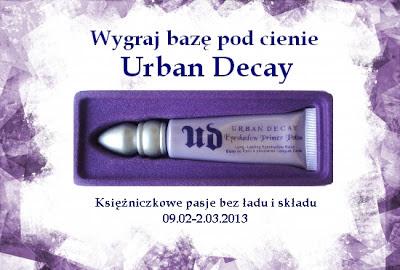 Wygraj bazę pod cienie Urban Decay – Rozdanie u Księżniczki!