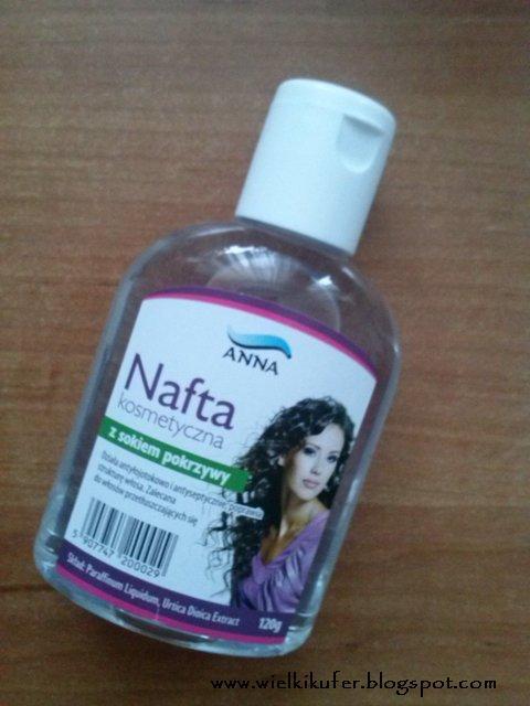Nowości do pielęgnacji włosów z firmy Anna – nafta z sokiem z pokrzywy i nafta w atomizerze