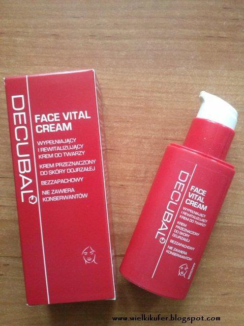 decubal face vital cream