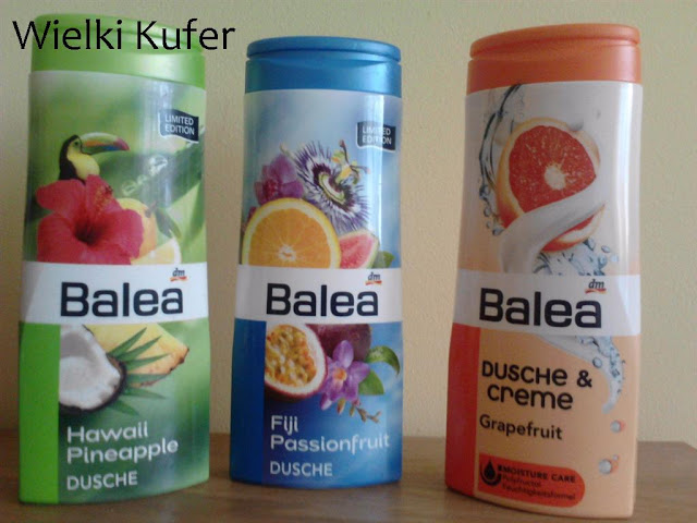 Pierwsze zakupy kosmetyków Balea!