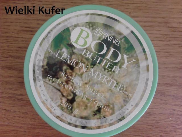 Masło do ciała Cytrynowy Mirt – Fennel i specjalny rabat dla czytelników bloga Wielki Kufer