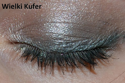 Makijaż z użyciem cieni NYX z paletki Casting Call