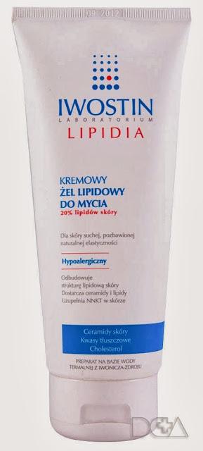 Kremowy żel lipidowy do mycia – 20% lipidów skóry – Iwostin Lipidia