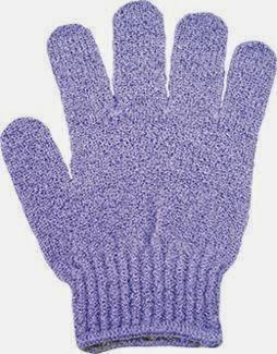 Peelingująca rękawica do masażu