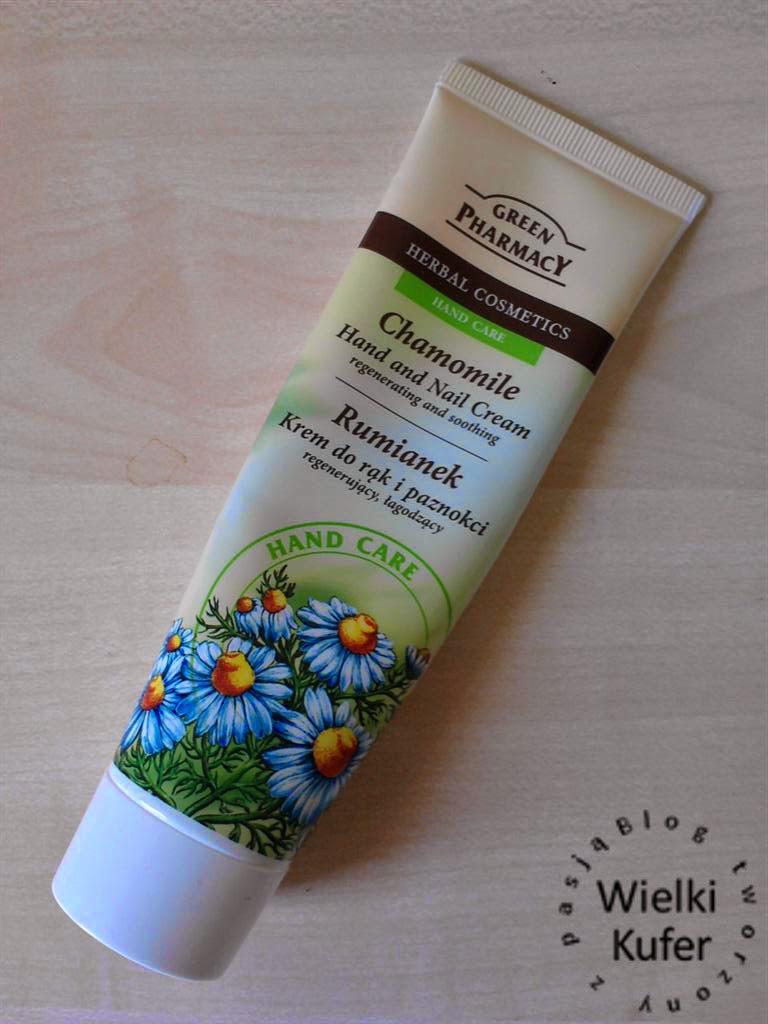 Rumianek – krem do rąk i paznokci – Green Pharmacy