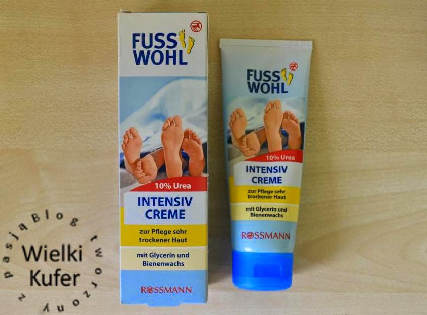 Krem intensywny do pielęgnacji stóp o bardzo suchej skórze Fuss Wohl 10% Urea