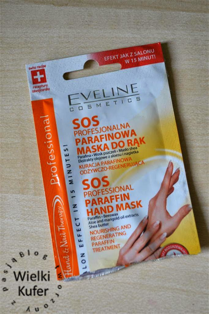 SOS Profesjonalna parafinowa maska do rąk – Eveline