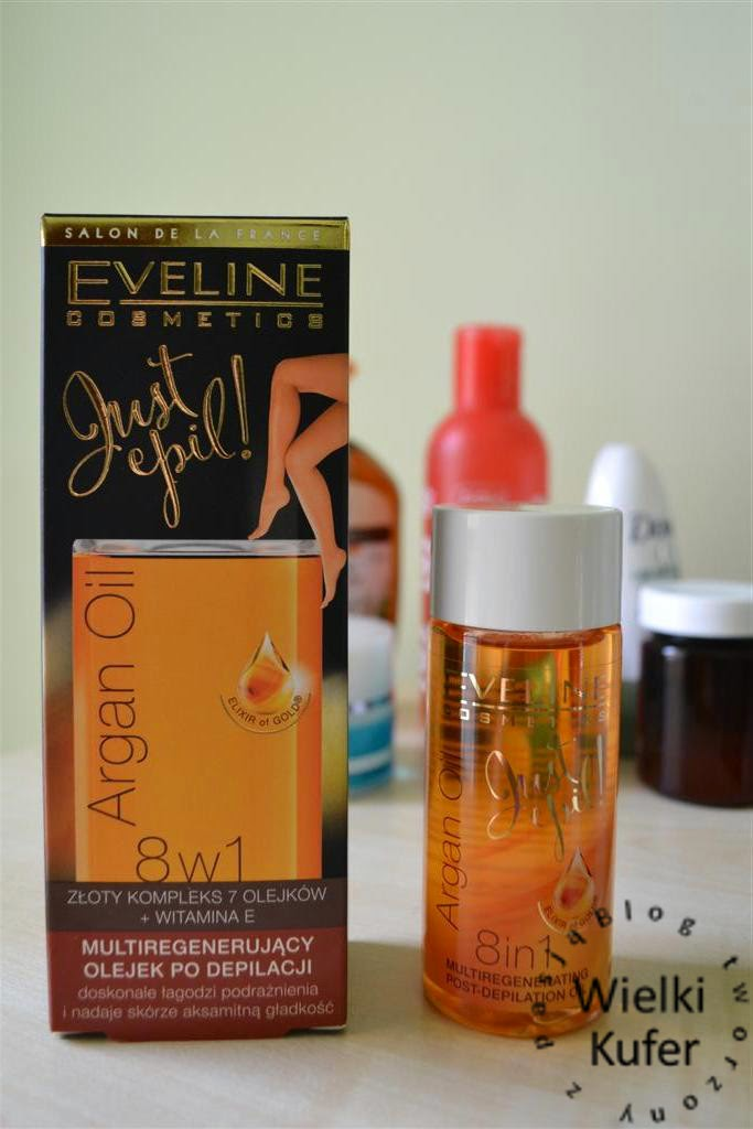 Jak łagodzić skórę po depilacji – Multiregenerujący olejek po depilacji – Eveline