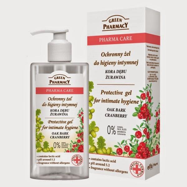 Ochronny żel do higieny intymnej – kora dębu + żurawina Green Pharmacy