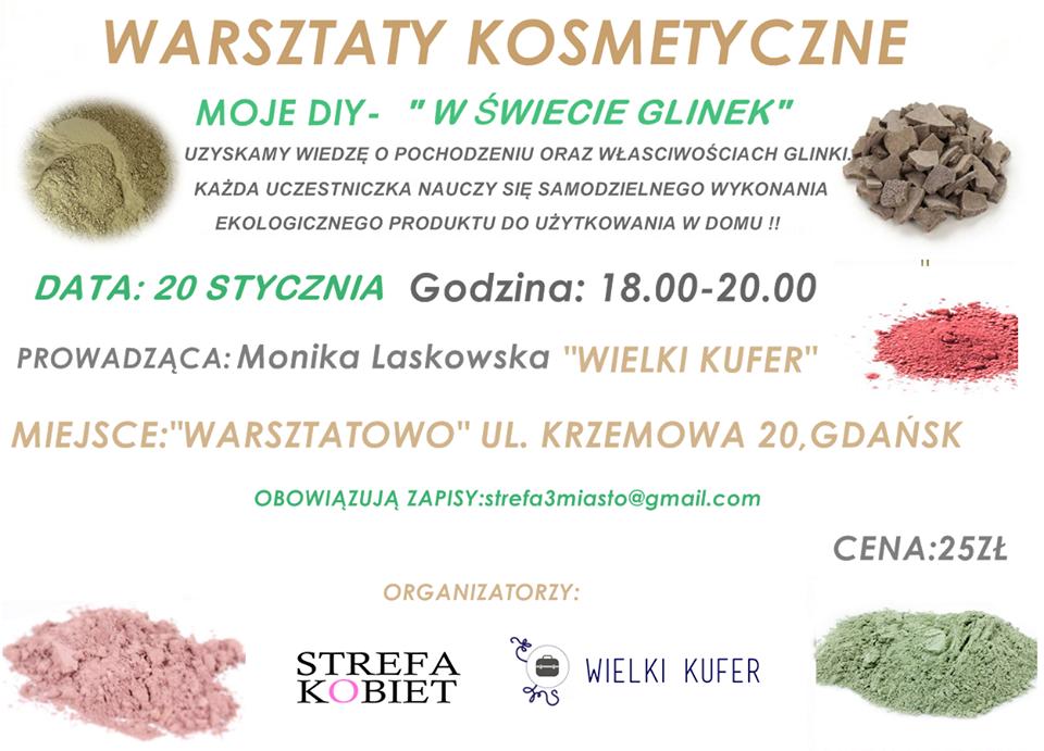 Warsztaty kosmetyczne – drugie spotkanie 20 stycznia 2015 – W świecie glinek
