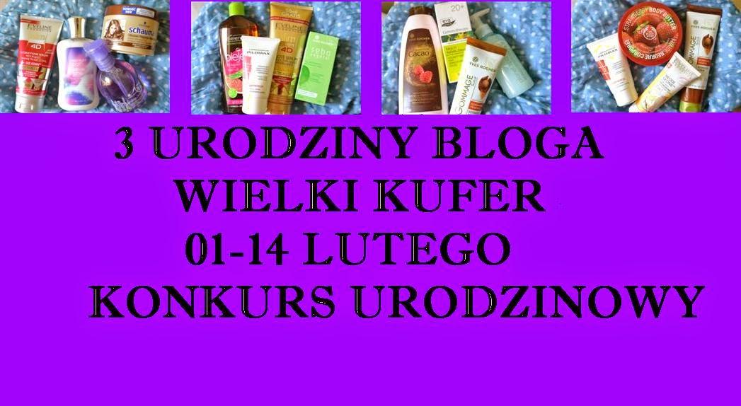 3 Urodziny Bloga Wielki Kufer – rozwiązanie konkursu.
