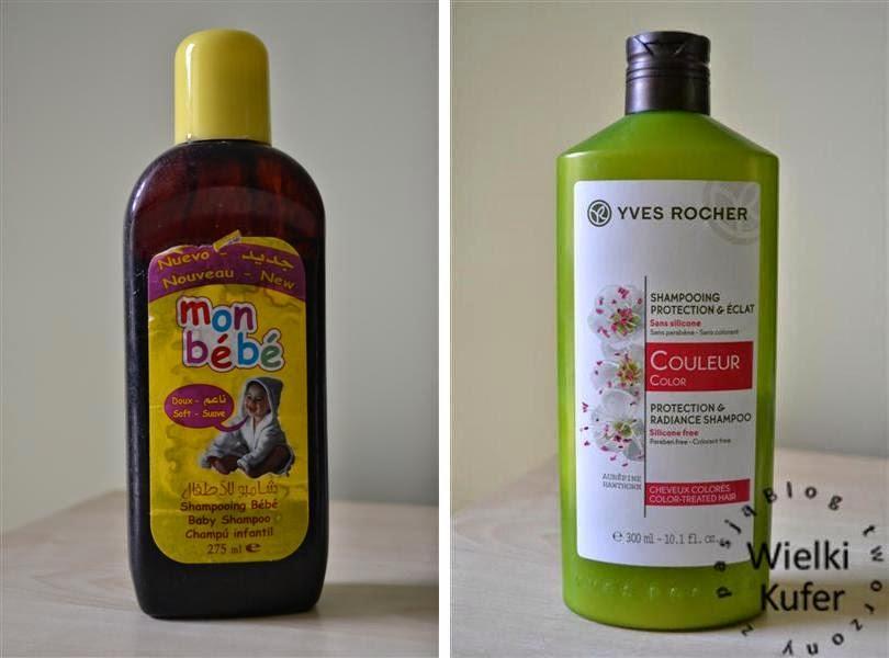 Szampon chroniący kolor włosów farbowanych. Yves Rocher i szampon DIY