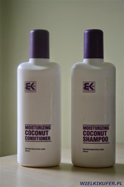 Brazil Keratin Coco – szampon bez SLS i nawilżająca odżywka do włosów zniszczonych