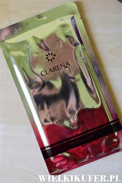 Skarpetki złuszczające Clarena – wpis zawiera zdjęcia w trakcie zrzucania skóry
