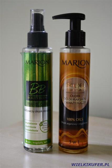 Olejek do demakijażu i olejek do pielęgnacji ciała – Marion