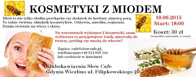 Kosmetyczne DIY – Warsztaty kosmetyczne w Gdyni – Kosmetyki z miodem