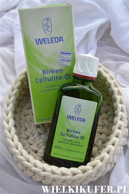 Antycellulitowy ujędrniający olejek –  Weleda Body Care