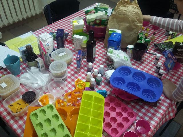 Warsztaty kosmetyków naturalnych – robimy mydła – relacja z Gdańska (4 września)