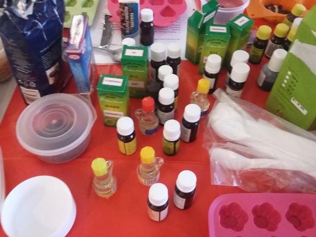 Warsztaty kosmetyków naturalnych – robimy mydła – relacja z Gdyni (10 i 11 września)
