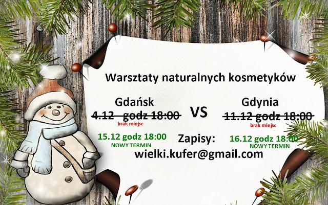 Relacja ze świątecznych warsztatów kosmetyków naturalnych – Gdańsk 4.12.2015