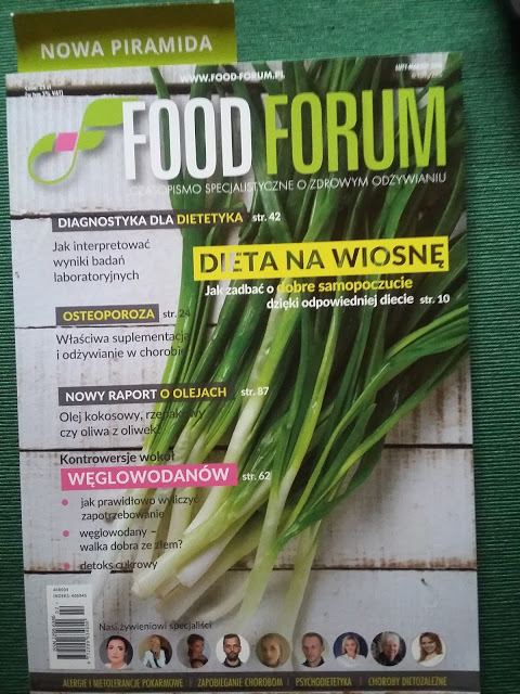 Co w prasie piszczy? Moda na zdrowie, Food Forum, Natura i Ty, Slow Life