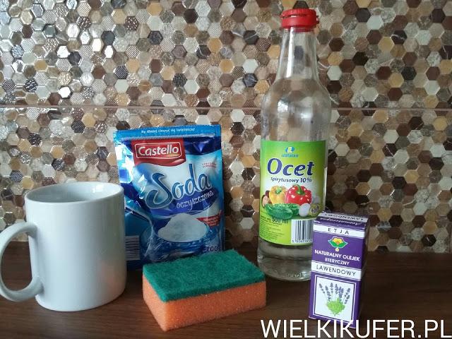 Musujący proszek do czyszczenia umywalek i baterii -DIY