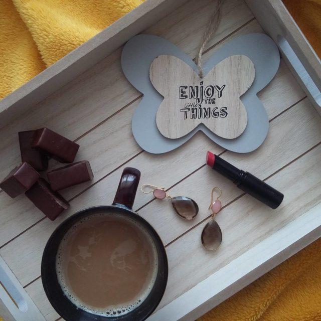 Mae rzeczy ciesz bardziej kawa ptasiemleczko relaks spacer koc sodyczehellip