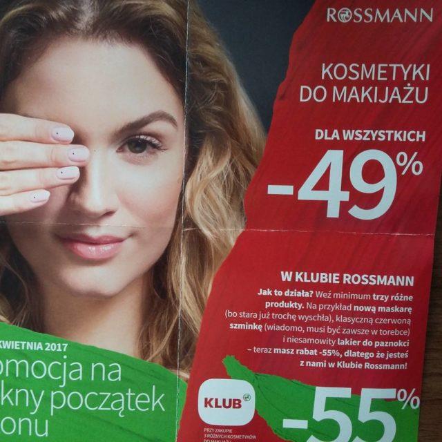 Co warto kupic w Rossmann podczas zblizajacej sie promocji minus49procenthellip