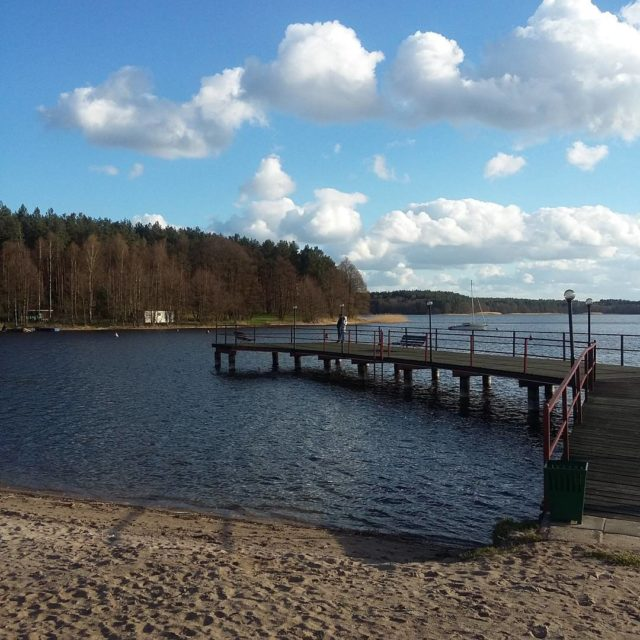 Gou sobotni relaks relaks gou Kocierzyna jezioro chmury niebo pomosthellip