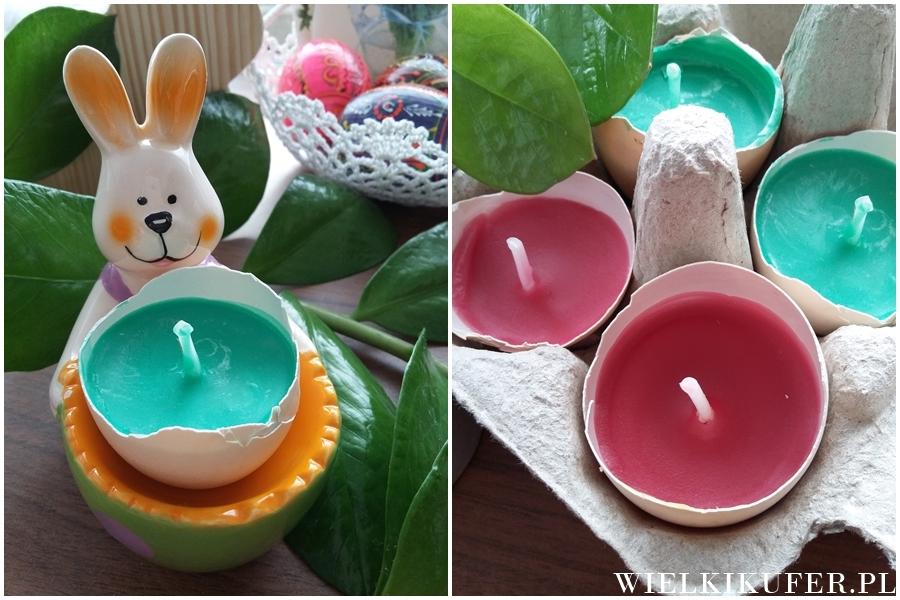 Wielkanocne DIY – świece w skorupkach