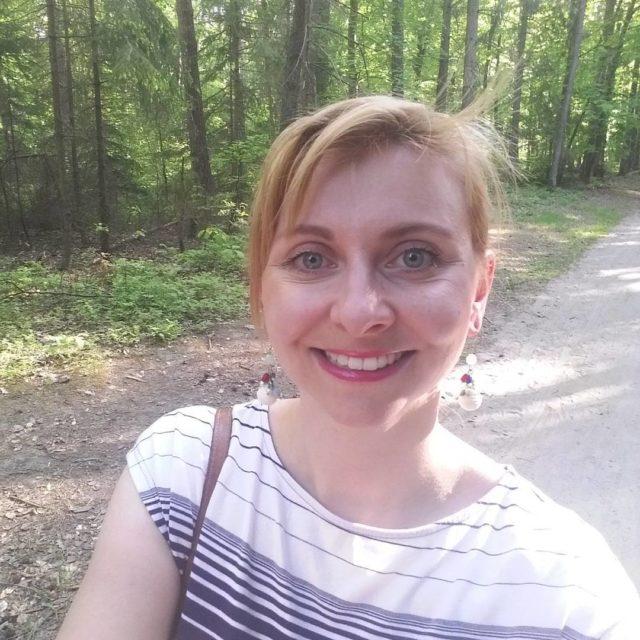 Z rodzin na spacerze w lesie Gdynia Las paski selfiehellip
