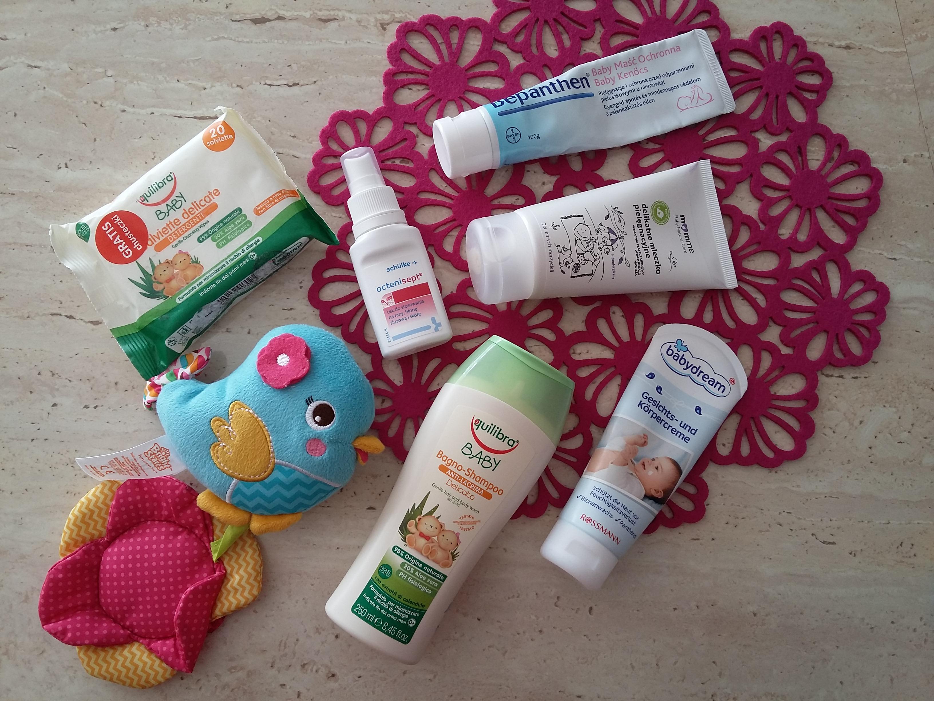 Naturalne kosmetyki dla niemowląt – Momme, Equlibra, Baby Dream