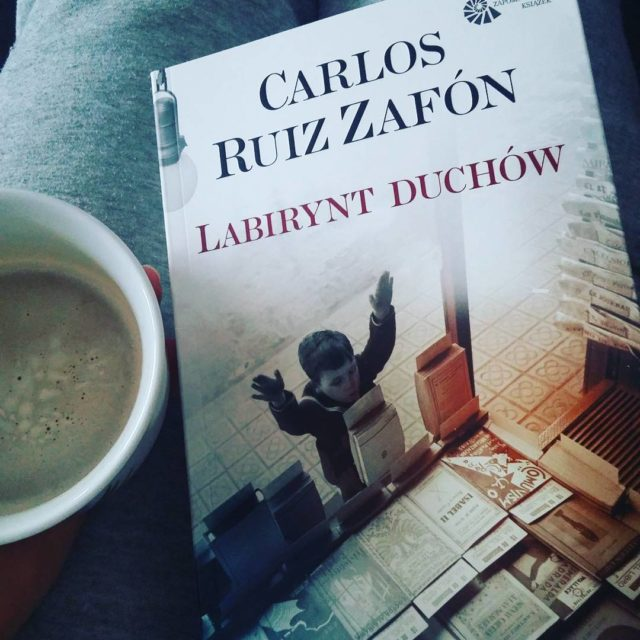 Mam co czyta! zafn zafon labiryntduchw book ksika kawa coffeehellip